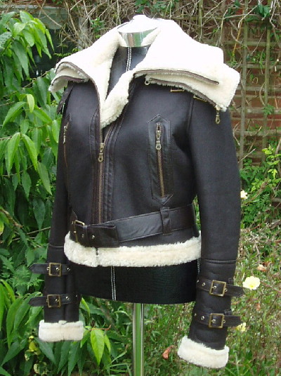 Ladies Sheepskin Flying Jacket