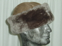 Camel Sheepskin Hat for Men