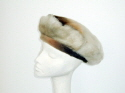 Hand made shaded sheepskin beret �65